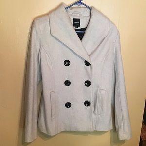 OFFERS WELCOME super cute Women's grey pea coat